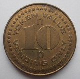 jeton ANGLIA TOKEN VALUE 10p VENDING ONLY