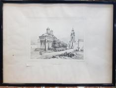 Auguste Raffet (1804-1860) - Biserica Trei Ierarhi, Iasi, 1837 foto