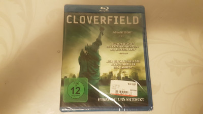 [BluRay] Cloverfield  - film original bluray SIGILAT foto