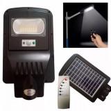 Cumpara ieftin LICHIDARE STOC! LAMPA SOLARA EXTERIOR 20 WATT,SENZORI,PANOU SOLAR,ACUMULATORI.