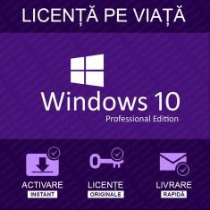 Licență Windows 10 PRO 32/64 bit pe viață - livrare rapidă