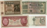4 - Lot 4 bancnote vechi