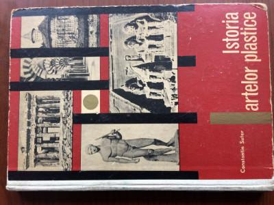 istoria artelor plastice constantin suter ed. didactica si pedagogica 1967 RSR foto