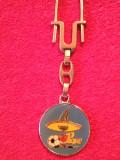 "Breloc fotbal - Mascota ""PIQUE"" Campionatul Mondial MEXICO 1986"