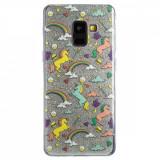 Husa Fashion Samsung Galaxy A8 2018 Glitter Unicorn