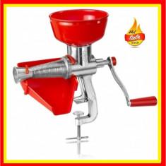 Cumpara ieftin Masina Suc Sos Rosii Masina manuala Aluminiu Storcator manual rosii cu sita