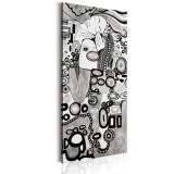 Tablou canvas - Iubire de argint - 60 x 120 cm, Artgeist