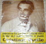 Single Cristian Vasile -Zaraza 4 melodii,EDC 706,disc pickup VG+,vinyl,vinil