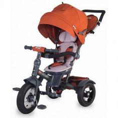 Tricicleta Multifunctionala Giro Plus Caramiziu