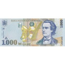 ROMANIA - 1000 LEI 1998 UNC FILIGRAN BNR MARE