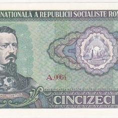 bnk bn Romania 50 lei 1966 necirculata