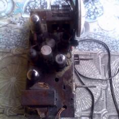 Mecanism Radio pe lampi  Ciocirlia sau Bicaz anii 40-50