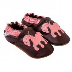 Papucei piele Sweet Pony