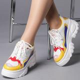 Pantofi sport dama Ionelia galbeni, 39