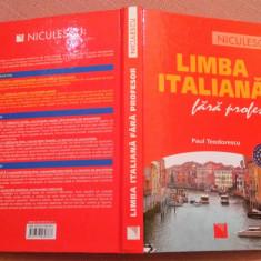 Limba italiana fara profesor - Paul Teodorescu, niculescu