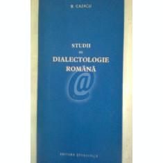 Studii de dialectologie romana
