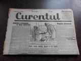 Ziarul Curentul , director Pamfil Seicaru , 26 aprilie nr.1878/1933
