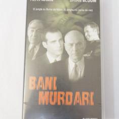Caseta video VHS originala film tradus Ro - Bani Murdari