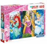 Cumpara ieftin Puzzle Maxi Super Color Disney-Princess, 60 piese