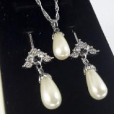 Set bijuterii Luxury Pearl