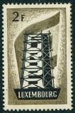 Luxembourg 1956 Europa CEPT 2Fr MNG MH AC.334
