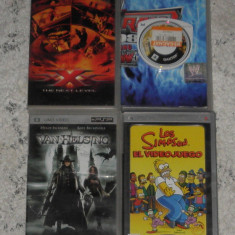 joc PSP The Simpsons,Daxter si film Van Helsing,xXx the Next Level