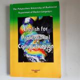 MIHAELA BLANDU - ENGLISH FOR PROFESSIONAL COMMUNICATION