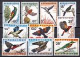 Rwanda  1967  fauna  pasari  MI 249-258  MNH  w65