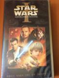 STAR WARS  1 - AMENINTAREA FANTOMEI    - FILM CASETA VIDEO VHS