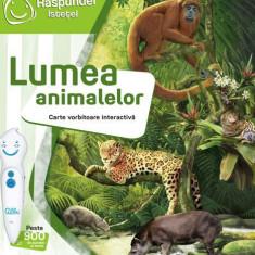 Carte interactiva Raspundel Istetel - Lumea animalelor