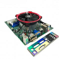OFERTA! Kit Placa de baza + Intel Sandy Bridge Core i5 2400 + Cooler LED Rosu
