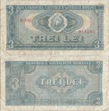 1966 (20 XII), 3 Lei (P-92a) - România