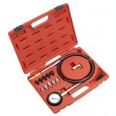 Tester presiune ulei cu set conectori 75mm 1200mm