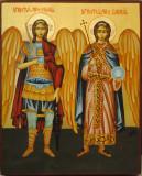 Sf. Arhangheli Mihail si Gavriil
