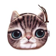 Portofel cu pisici Cute Cat Face