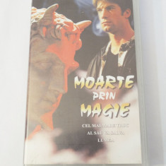 Caseta video VHS originala film tradus Ro - Moarte prin Magie