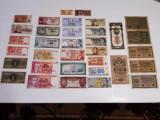 Lot 34 bancnote (începând cu anii 1909, 1919, 1922, 1930 etc).