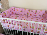 Lenjerie patut bebe - roz, Alte dimensiuni