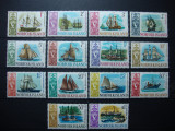 NORFOLK ISLANDS 1967 AMBARCATIUNI SERIE MNH , 1 MH, Nestampilat