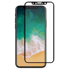 Folie sticla 4D Iphone X Xs negru
