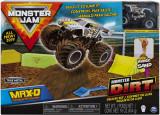 Set camioneta Max-D cu nisip kinetic si accesorii Maxfun Monster Jam, Spin Master