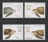 Guinea Bissau 2001 - Broaste Testoase 4v MNH, Nestampilat