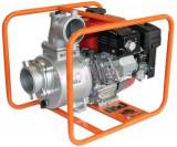 Motopompa Bisonte MPA4 pentru apa murdara, debit apa 94.8 mc/h, diametru refulare 100 mm, Motor Subaru 9 cp, Benzina