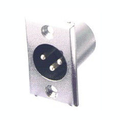 Conector XLR tata de panou Sal S 25S
