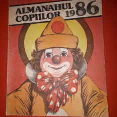 ALMANAHUL COPIILOR 1986 ×