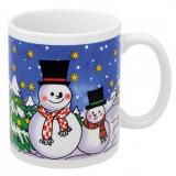 Cumpara ieftin Cana Craciun XMAS CUP Snowman