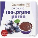 Piure Bio Prune Clearspring 2x100gr Cod: 5021554989745