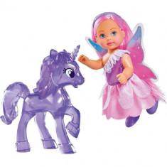 Papusa Evi Love Unicor Friend 12 cm cu Unicorn