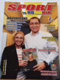 "Revista sport - ""SPORT in ROMANIA"" (nr.7 aprilie 2014)+supliment"