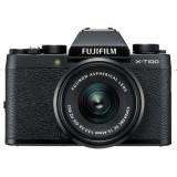 Aparate foto Mirrorless FUJIFILM X-T100 cu Obiectiv 15-45mm, Negru